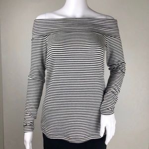 Anthropologie Long Sleeve Off The Shoulder Size S